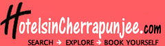 Hotels in Cherrapunjee Logo